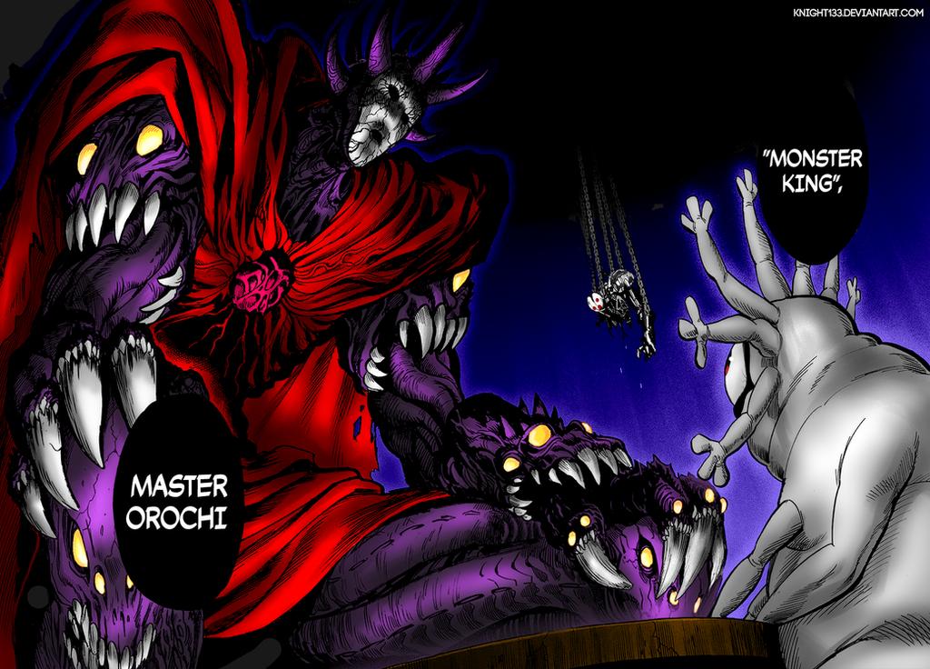 One Punch Man - Master Orochi by Knight133 on DeviantArt