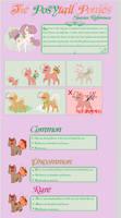 The Posytail ponies [OPEN SPECIES REF] by Violet-ERA