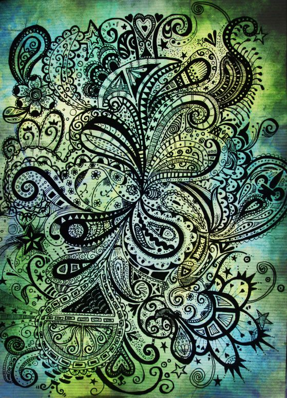 random abstract by fourteenthstar