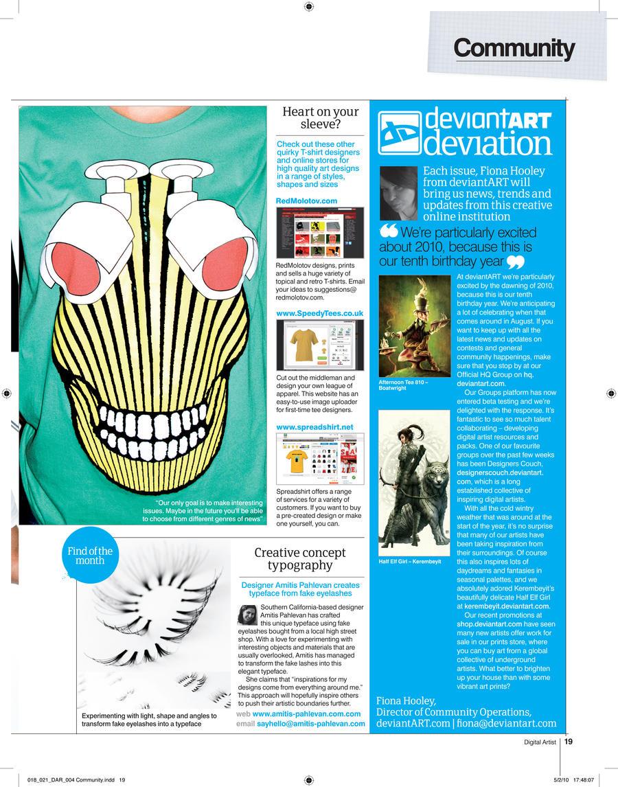 Digital Artist Magazine 4 by fourteenthstar