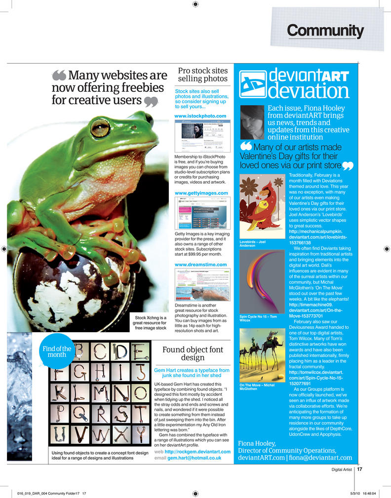 Digital Artist Magazine 5 by fourteenthstar