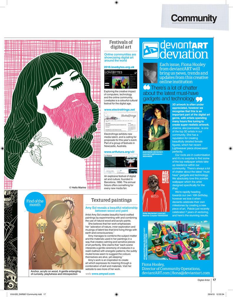 Digital Artist Magazine 7 by fourteenthstar