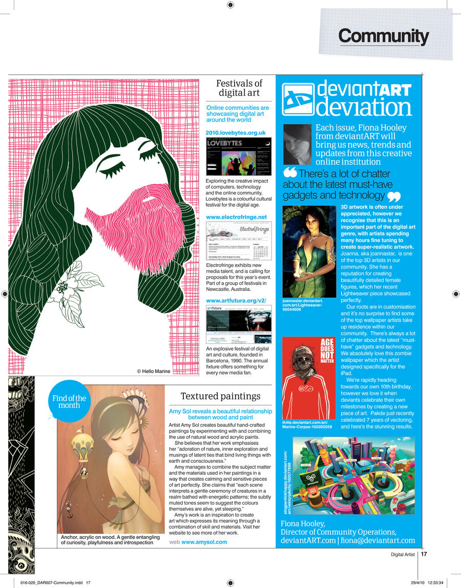 Digital Artist Magazine 7 by fourteenthstar