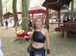 Lovely member of the Renfest Staff