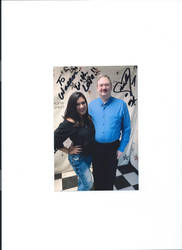 Melina from the WWE and I
