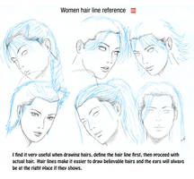 Hair line reference by randychen