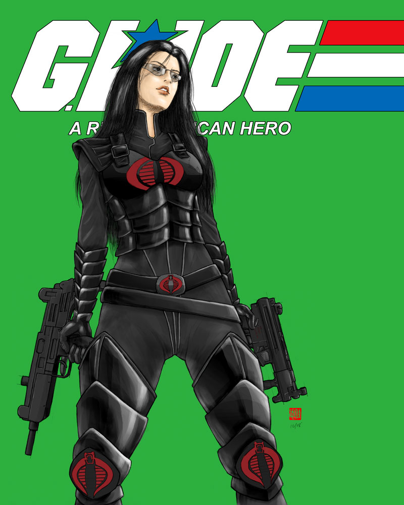 Cobra Manga 2010 Streaming: G. I. Joe Baroness By Randychen On DeviantArt