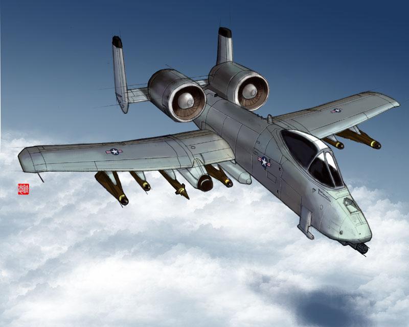 A-10 Thunderbolt by randychen