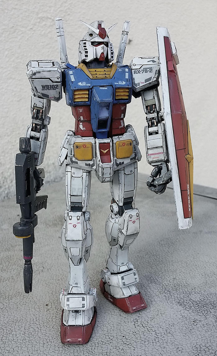 RX-78 Mobile Suit Gundam by randychen