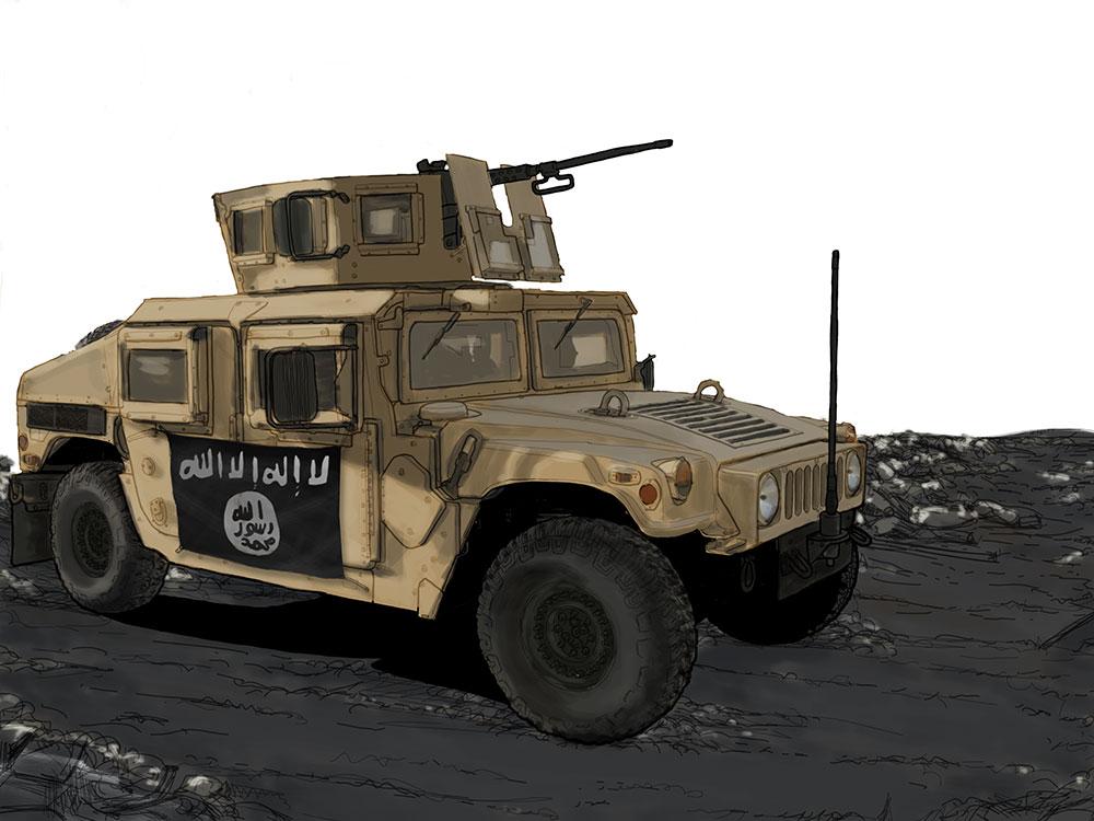 IS Humvee by randychen