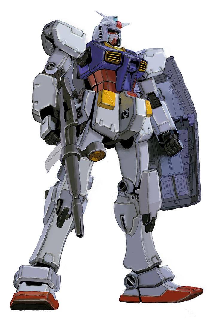 Gundam by randychen