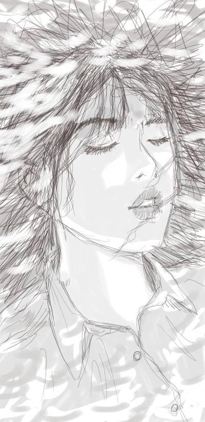 daily sketch by randychen