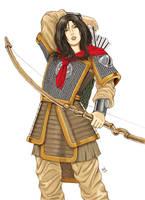 Princess Warrior by randychen