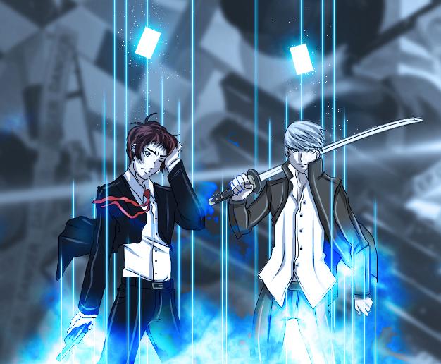 Persona 4: Common enemy by seiyikun