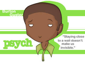 Psych - Gus by Reaii