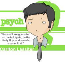 Psych - Lassiter by Reaii