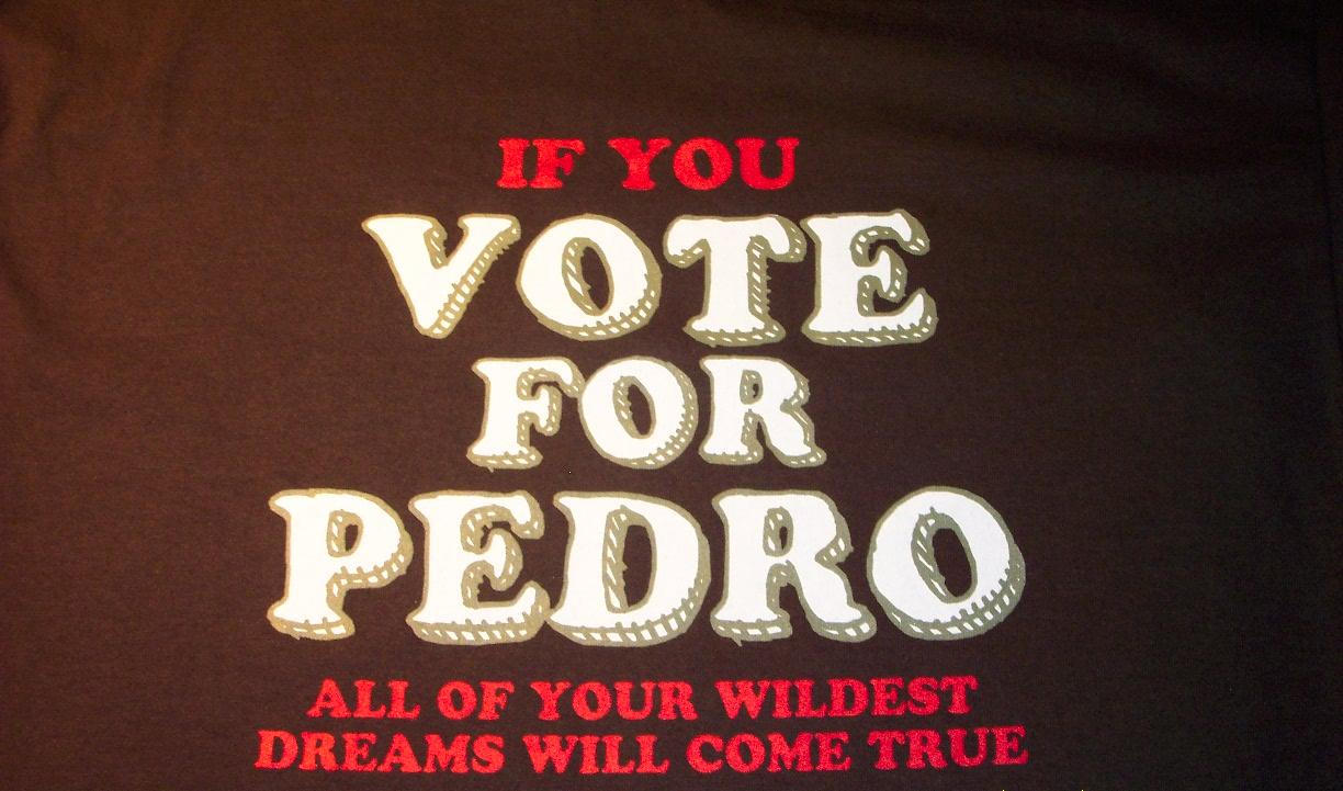 Vote For Pedro And All Your Wildest Dreams Vote For Pedro