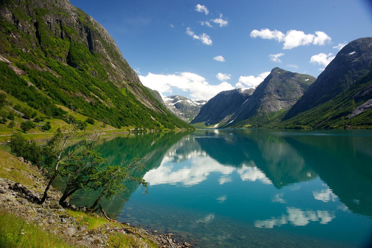Fjaersland, Norway by Vironevaeh