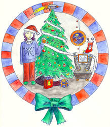 Xmas from Zish and Argo by Vironevaeh
