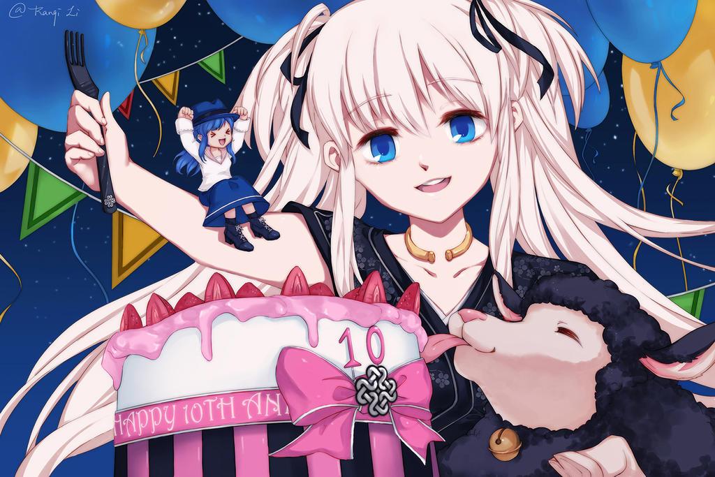 Happy 10th Mabinogi Anniversary! by RanqiLi