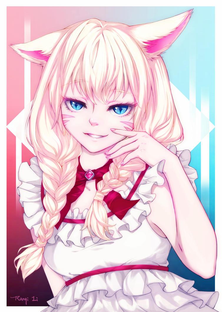 Mira-chan Red Version by RanqiLi