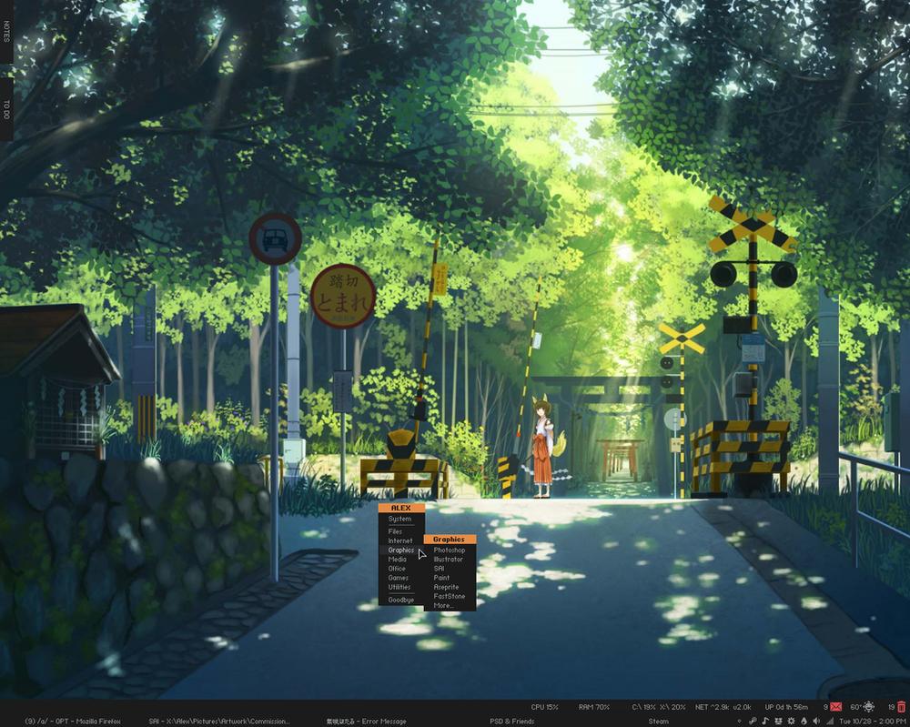 SG2 Desktop: October '14 by Esjitu