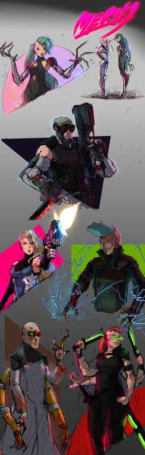 Cyberpunk Villains