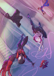 INTO THE SPIDERVESE FANART
