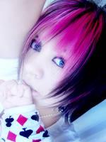 pink hair asdasd by zekusu