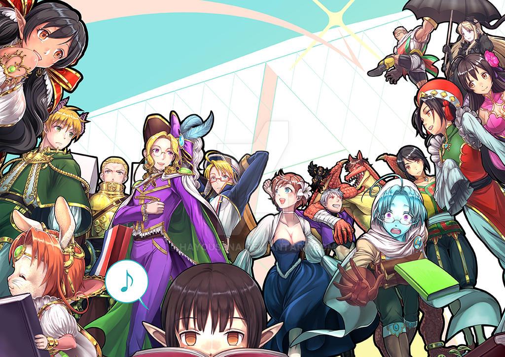 Sodoheta all character illustration by hayousena