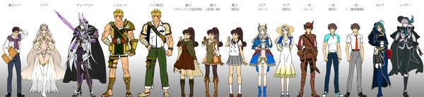 Watashi no yusha sama character design by hayousena