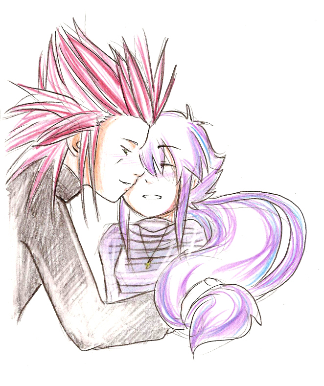 Riss and Axel by CATonTheStreet