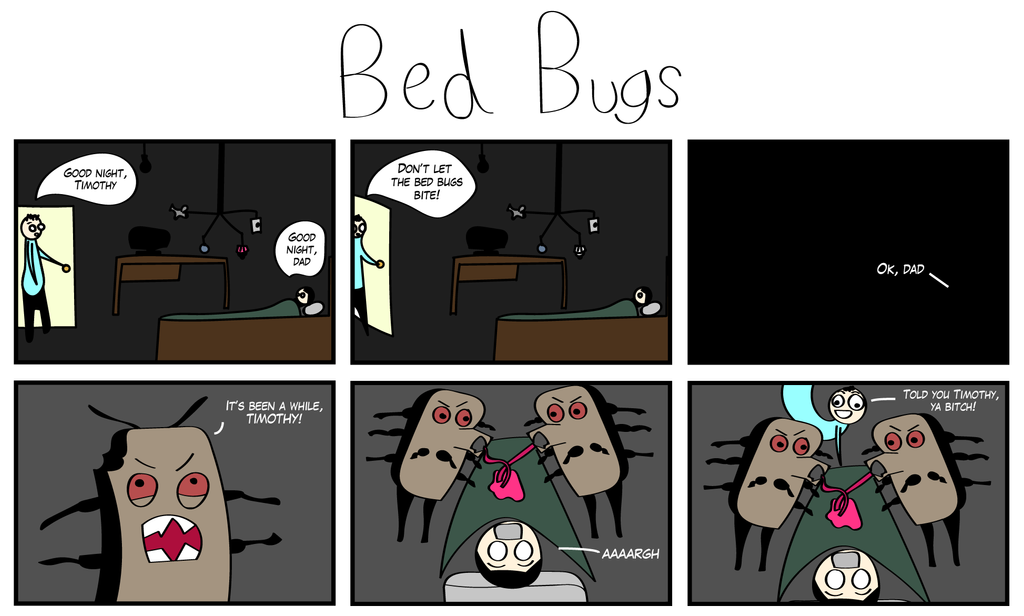 Bed Bugs by CupCaine