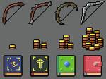 Bows, Coins, Books  (Dawnbringer32 Palette)