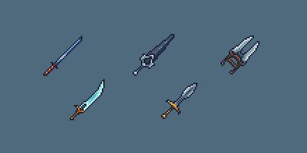 RPG Icon Set : Blades (Part 2)