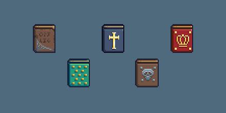 RPG Icon Set : Books (Part 2)