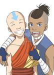 A:TLA: Aang and Sokka