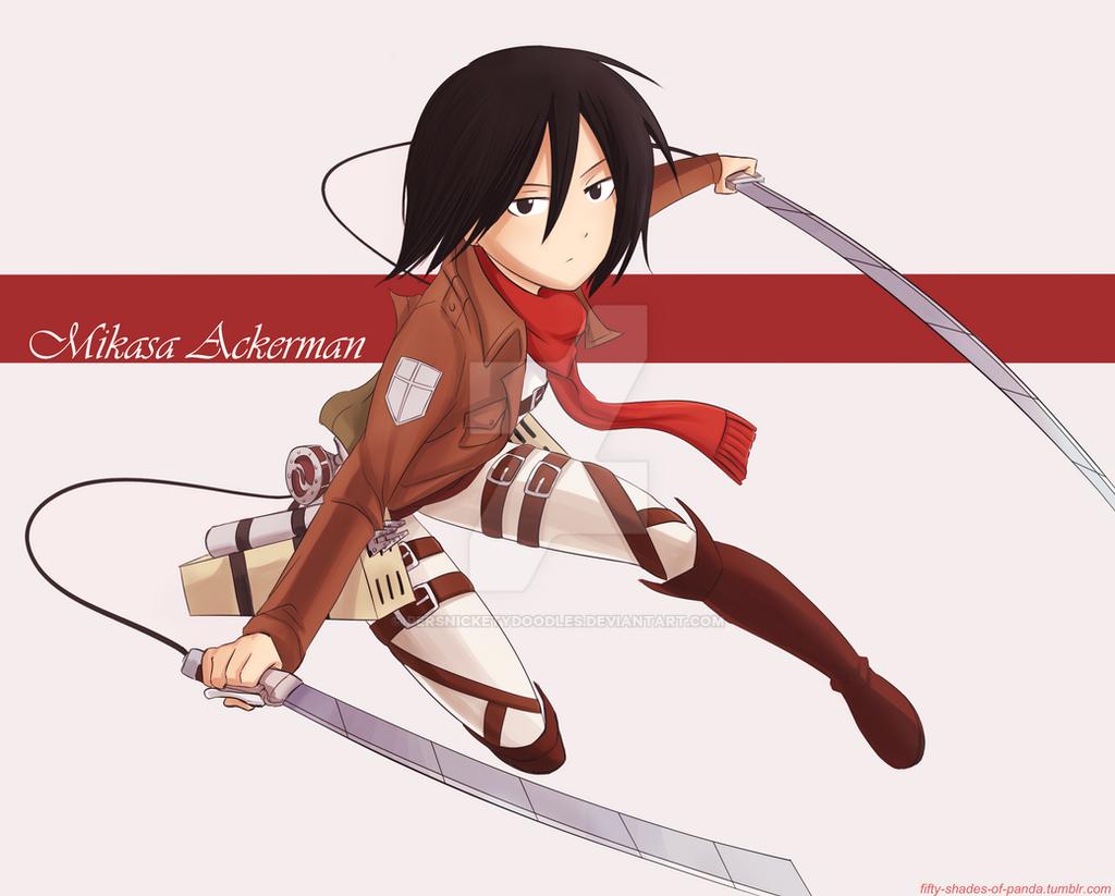 Mikasa Ackerman by Perfectlykawaii93