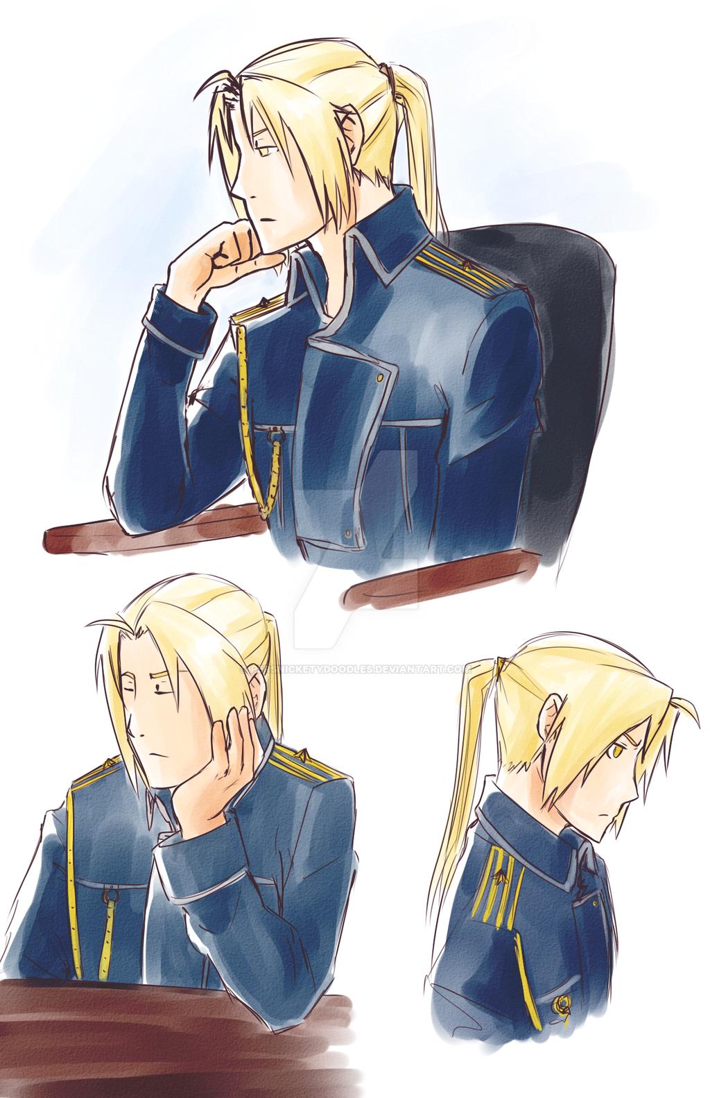 Ed in Uniform by Perfectlykawaii93