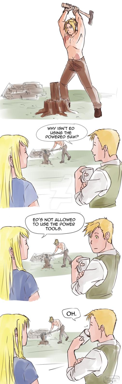 Power Tools by Perfectlykawaii93
