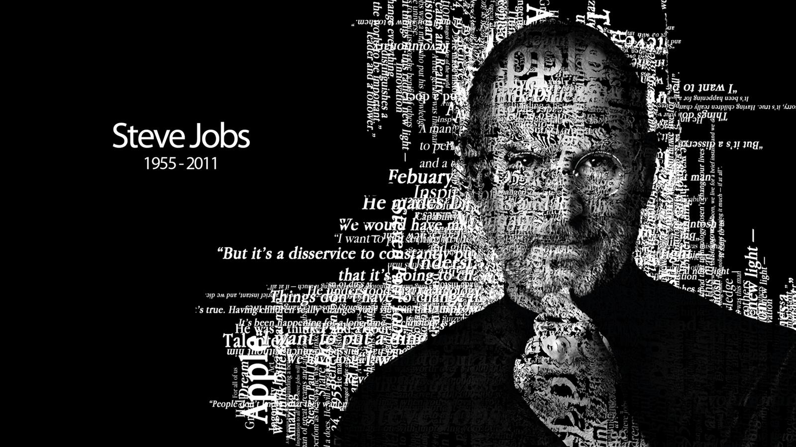 Steve jobs tribute wallpaper by zabelon on deviantart - Steve jobs wallpaper download ...