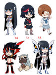 Kill La Kill Stickers