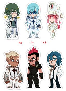 Kill La Kill Sticker set #2