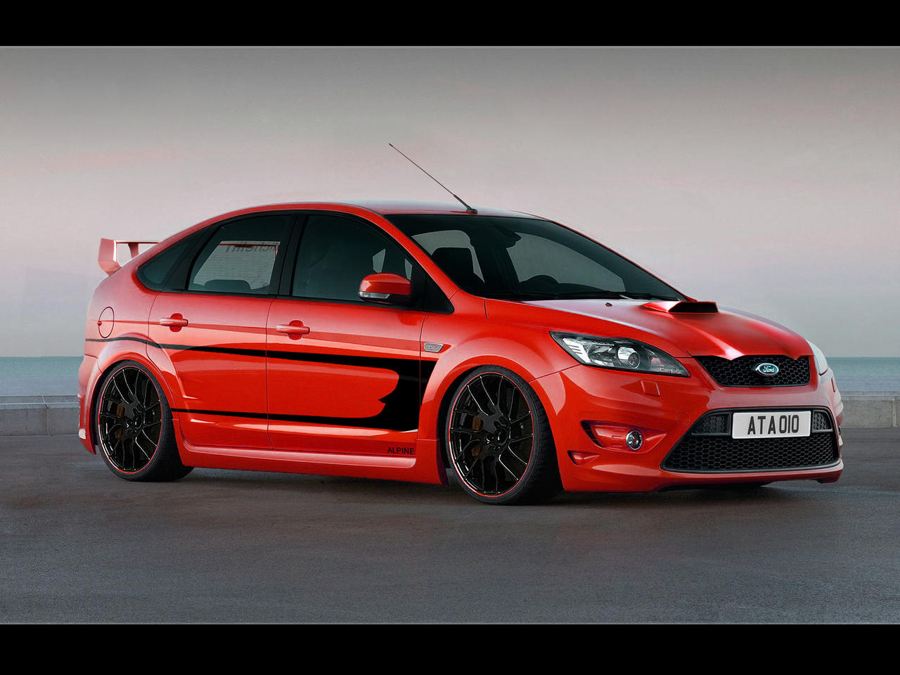 Ford Focus Virtual Tuning By Microalex On Deviantart
