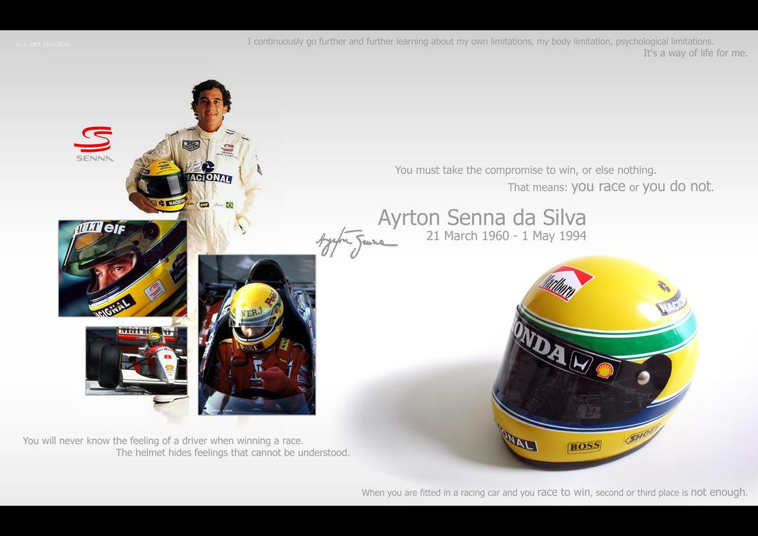 Ayrton Senna by MicroAlex