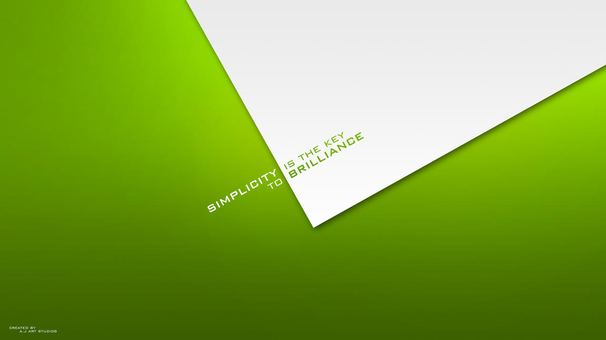 Simplicity I by MicroAlex on DeviantArt  Simplicity Wallpaper