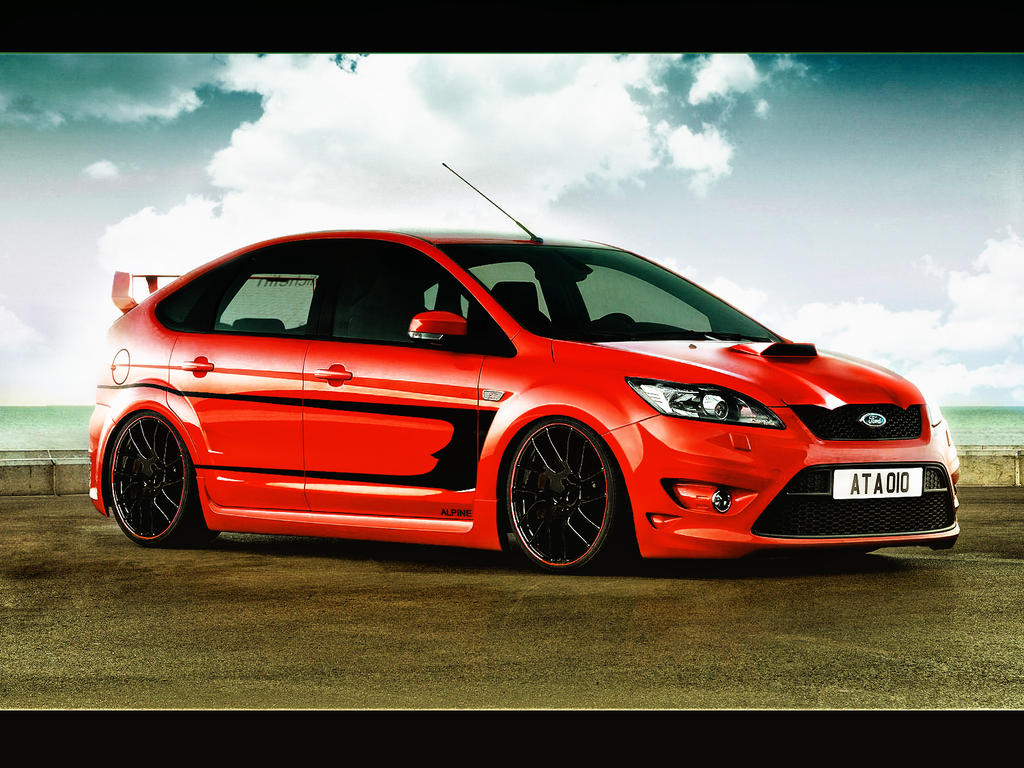 Ford Focus ST virtual tuning remastered by MicroAlex on ...