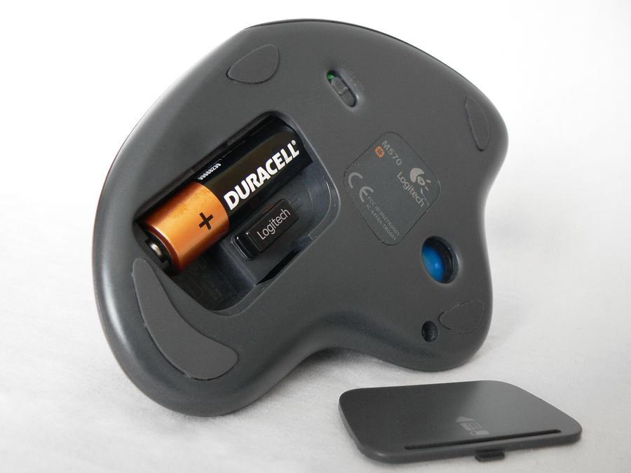 logitech m570 wireless trackball mouse manual