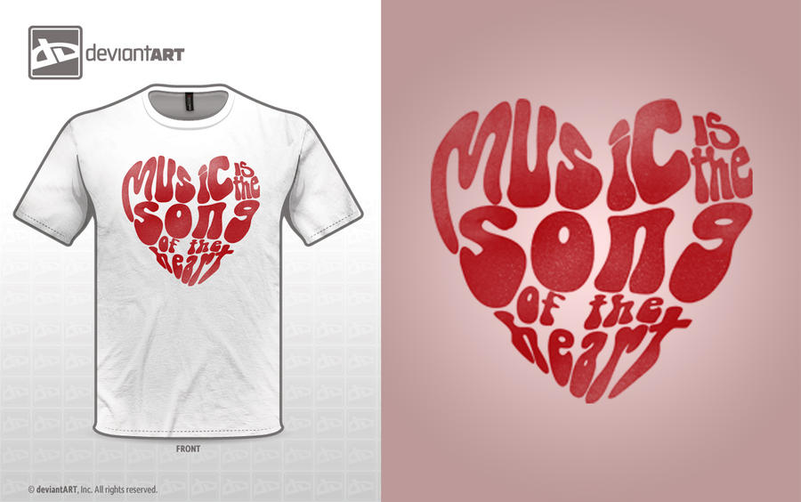 Music is the song of the heart by PedroReus