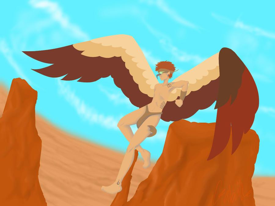 Eagle by sarnekichi